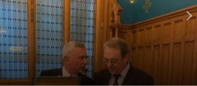 اتصال بين فرنجيه وبوغدانوف بحث في التطورات السياسية