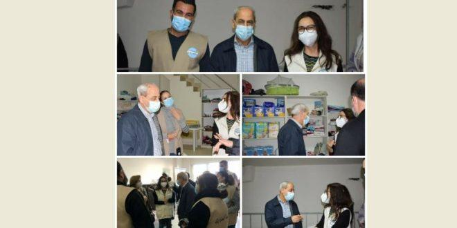 خير تفقد مركز مؤسسة الطوارئ الاجتماعية في طرابلس والتقى متطوعيها