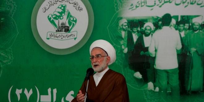 تجمع العلماء المسلمين نعى رئيس مجلس أمنائه الشيخ أحمد الزين