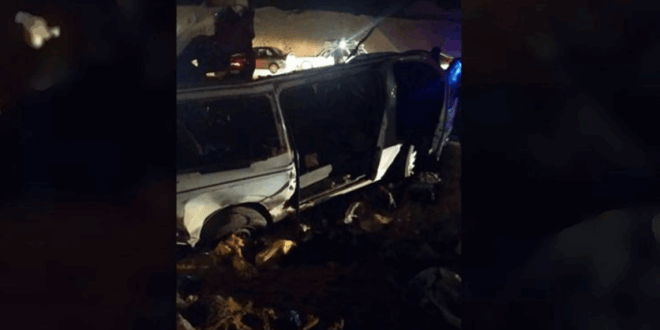 حادث مروري يودي بحياة 18 شخصاً في جنوبي القاهرة