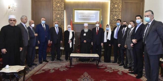 """""""المستقبل"""" زار الشيخ حسن: الحريري حريص على تشكيل حكومة متوازنة"""