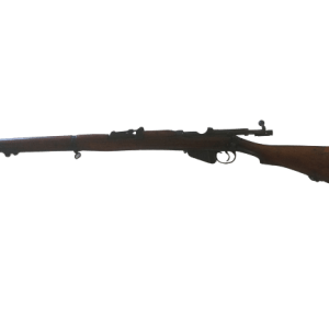 Britischer Enfield MK1 Kal. 22LR Einzellader mit braunem Holzschaft