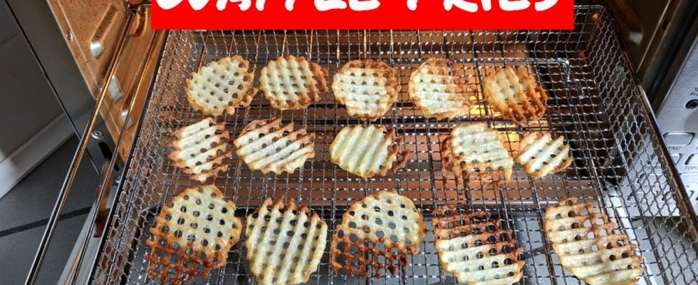 Waffle Fries Recipe Power Air Fryer Oven Elite And Nuwave Bravo