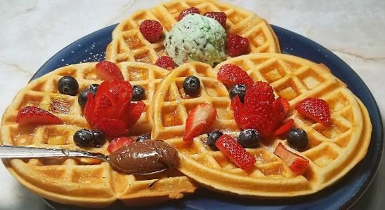 BELGIAN WAFFLE Recipe | Fluffy Waffle Recipe | Perfect to Freeze