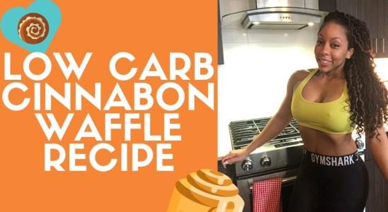 Quick & Easy Low Carb Cinnabon Waffle Recipe