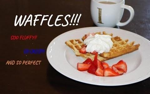 Waffles - Gourmet & Glasses - Ep. 2
