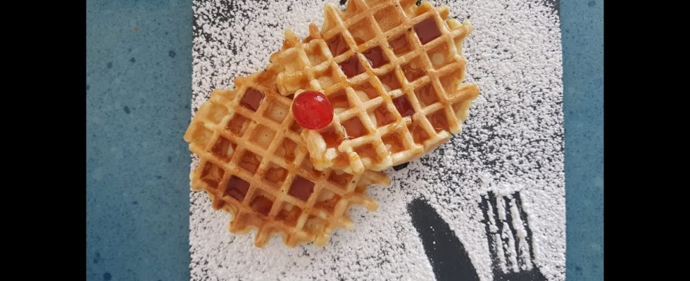 Waffles recipe , simple and quick