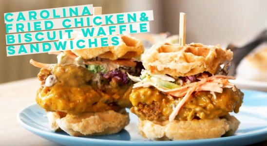 Brunch Life | CHICKEN AND WAFFLES | Recipe | Fidel Gastro