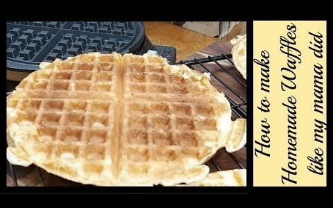 CVC's Homemade Waffles, Mama's Best Southern Cooking Tutorials