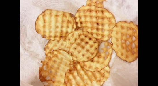 Cast Iron Cooking Waffle Fries Recipe