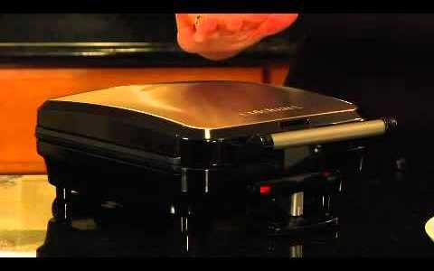 Cuisinart 4-Slice Belgian Waffle Maker (WAF-100) Demo Video
