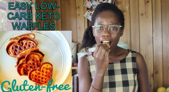 Easy Low Carb Waffles (Keto)
