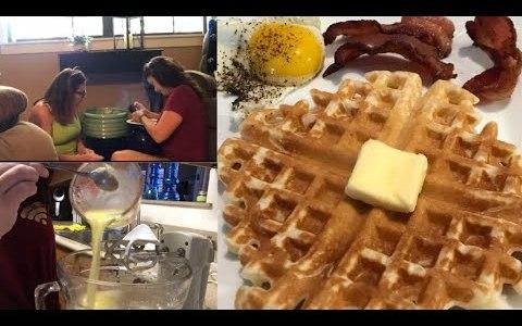 Homemade Waffles   Mental Health Days   May 23, 2018