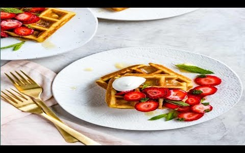 How to make perfect waffles Homemade  Recipe