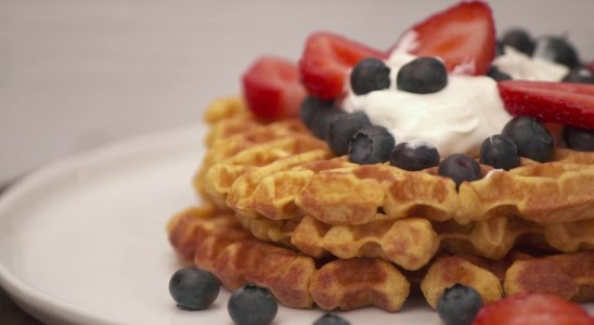 Pumpkin Waffle Recipe - Danny Seo