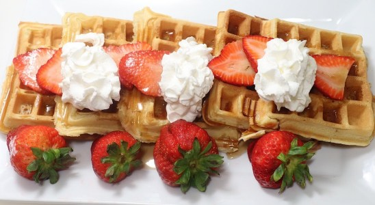 The Best Homemade Waffles | My Seventeenth Video | Dada's FoodCrave Kitchen