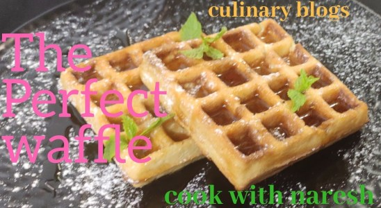 How to Make Classic Waffles--- cook with naresh