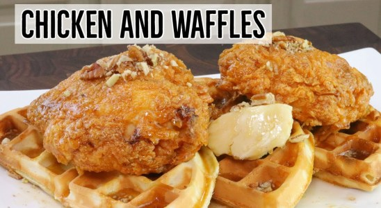 Chicken and Waffles- Fried Chicken and Waffles Recipe