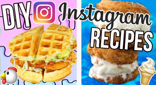 DIY INSTAGRAM RECIPES!! Fried Chicken Waffles, Churro Ice Cream + MORE!!