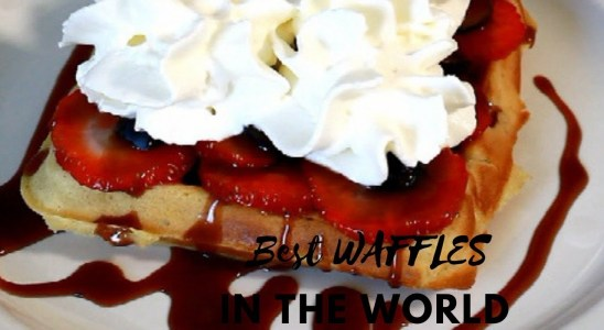 How TO Make The Best Waffles in The World  | Recipes By Chef Ricardo
