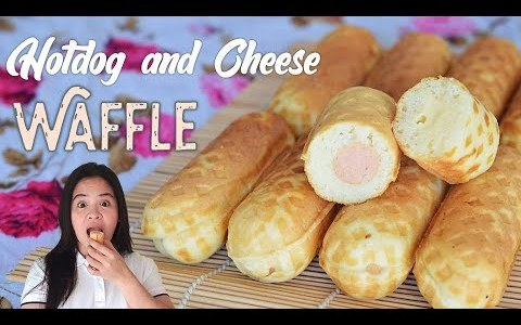 Recipe Negosyo : Hotdog and Cheese WAFFLE | ASG