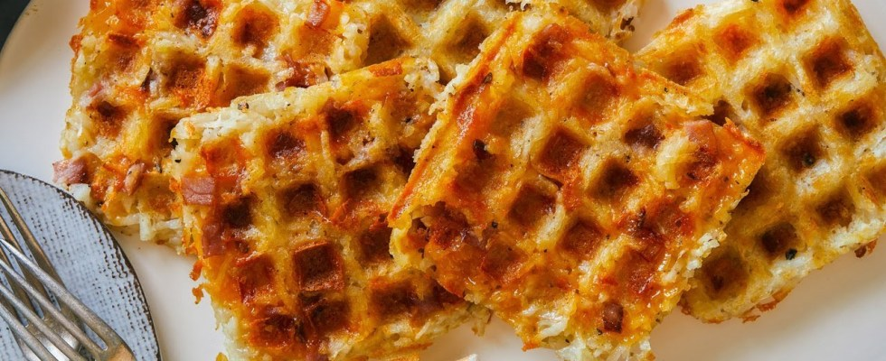 The Pioneer Woman Makes Waffle-Maker Hash Browns   Food Network