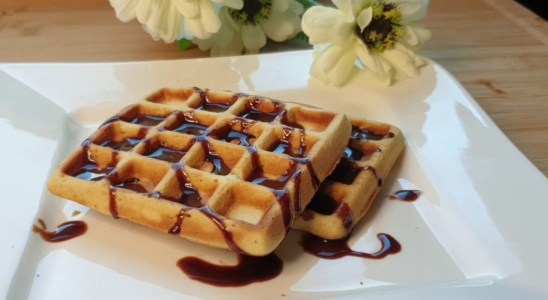 Quick and Easy homemade Kids special waffle in Tamil recipe 36
