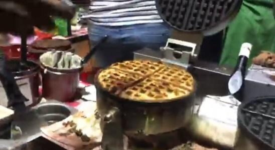 Waffle recipe | indian street food