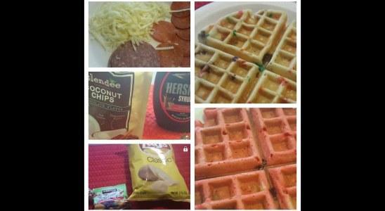 Crazy good waffles  (recipes)