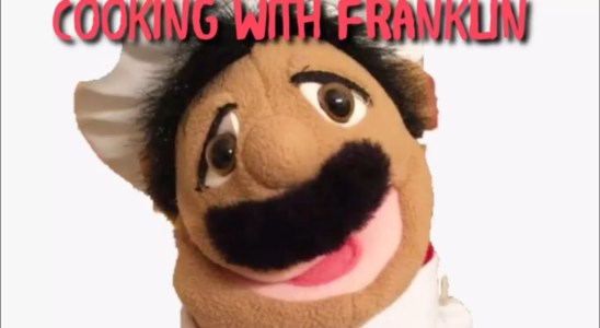 Franklin the Puppet Chef Cooking Waffles  (ep1)