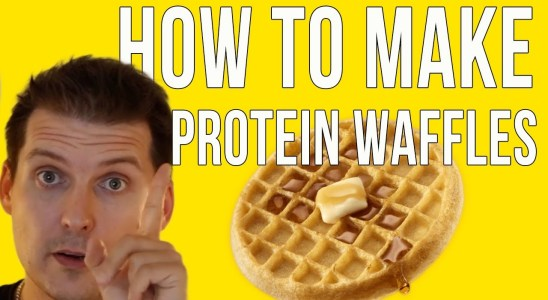 HOW TO MAKE PROTEIN WAFFLES - QUICK & EASY, Edited Re-Upload