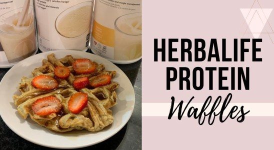 How to Make Herbalife Protein Waffles