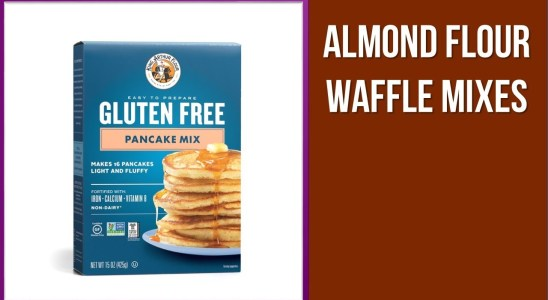 5 Almond Flour Waffle Mixes in 2020
