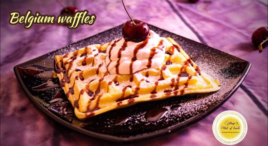 Belgium Waffles recipe / Easy and Delicious Waffle recipe / Magic Out Of Hands