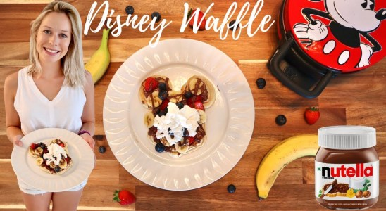 Disney Fruits and Nutella Waffle Recipe From Sleepy Hollow