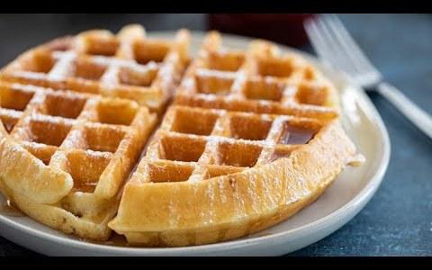 Easy & Simple Classic Waffles Recipe Homemade Waffles Jai Fit Chef Jai   #easyclassicwafflesrecipe