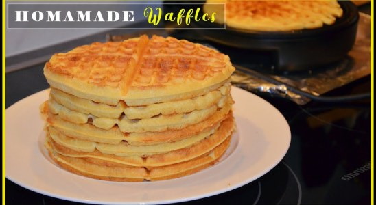 How To Make Buttermilk Waffles | HOMEMADE TASTY WAFFLE RECIPE | Super Marie
