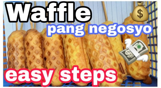 How to make WAFFLE easy steps| TUTORIAL