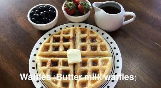 Waffles ! Buttermilk Waffles! Soft and Fluffy Waffles ! How to make Waffles Recipe !