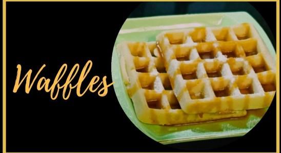 Waffles | Easy waffle recipe | Easy snacks recipes | Kids Snacks