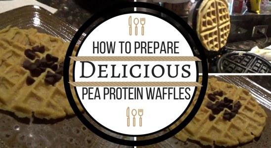 Delicious Pea Protein Waffles | Recipe #1