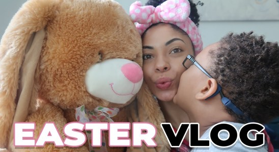 Easter Vlog + The Easiest, Fluffiest, Blueberry Waffles Recipe!