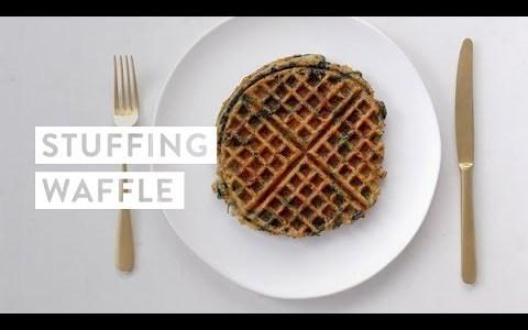 Stuffing Waffle Recipe | goop