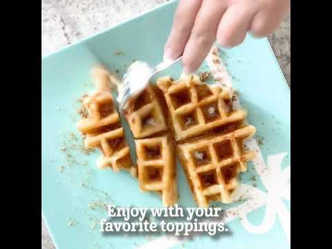 Sweet & Chewy MOCHI WAFFLES RECIPE