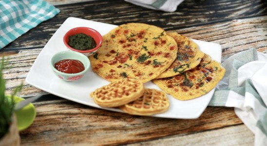 Besan Chilla |Chilla Recipe | Gram flour Waffles |Besan Pancakes