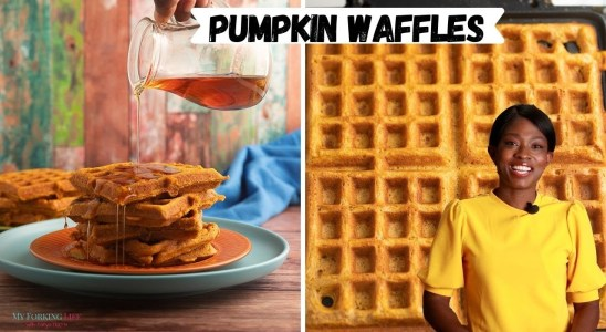 Delicious Pumpkin Waffles Recipe (not Pancakes)
