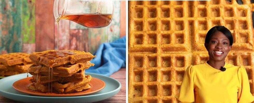 Delicious Pumpkin Waffles Recipe (not Pancakes)