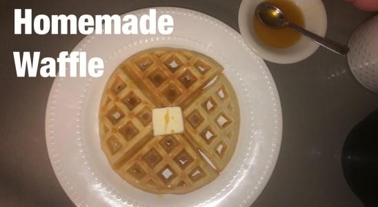 Homemade Waffle Recipe/Crispy and Fluffy Waffle Recipe/Kids Breakfast Recipes