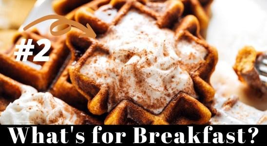 How to Make Gluten Free Waffles (Pumpkin Waffle Recipe) - Munchkin Time