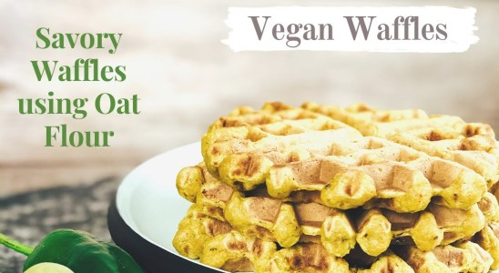 Savory Waffles | Vegan | Gluten Free
